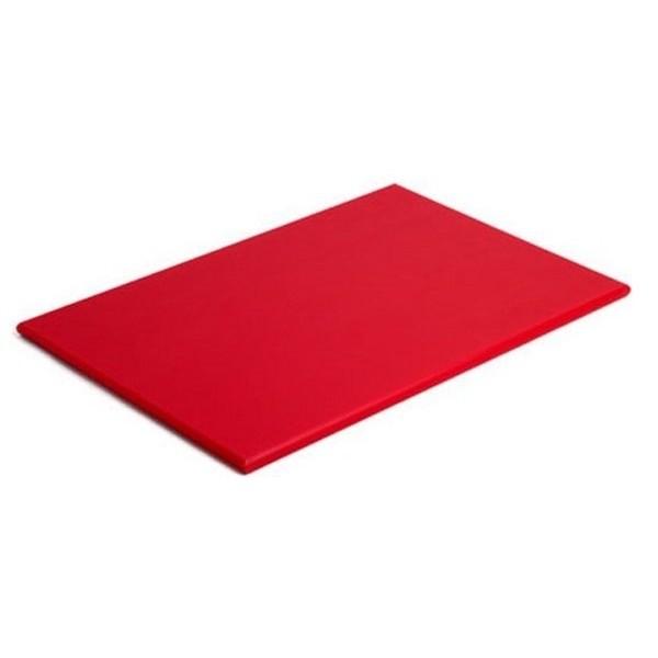 Placa de Polietileno Vermelha 50x30x1cm Solrac