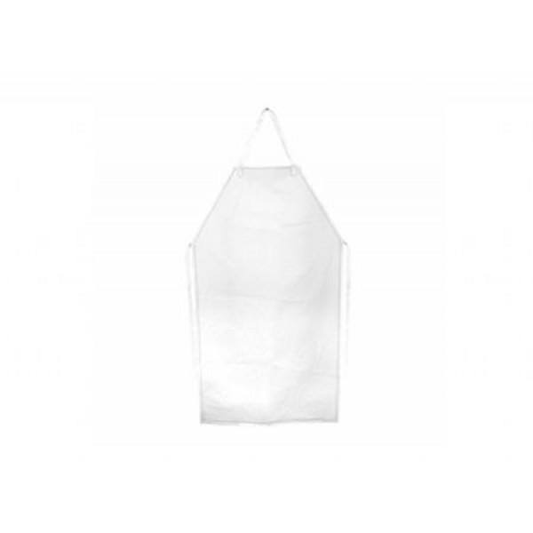 Avental Silicone Transparente Longo