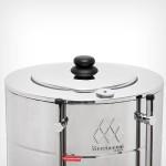 Cafeteira Elétrica Tradicional 6 Litros 110V Aço Inoxidável Marchesoni