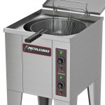 Fritadeira Elétrica Água e Óleo 35 Litros - Metalcubas