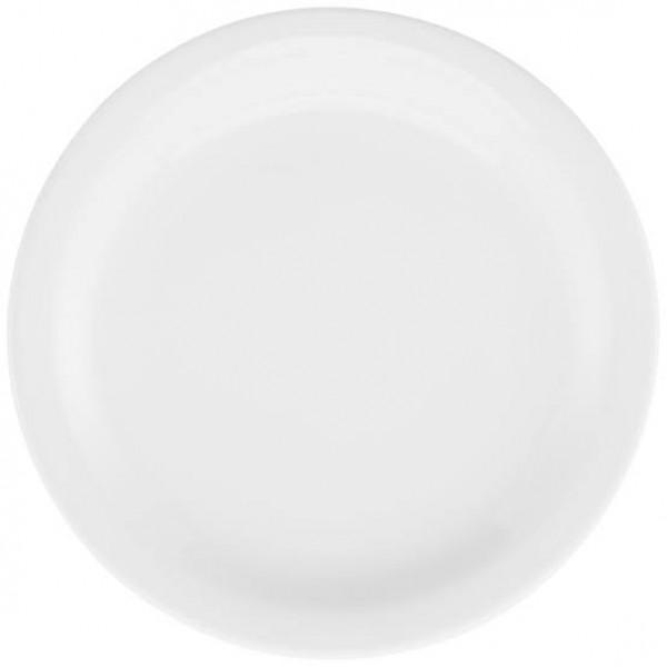Prato Raso Branco 27cm Oxford