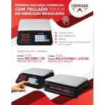 Balança touch led 35kg DCL Ramuza