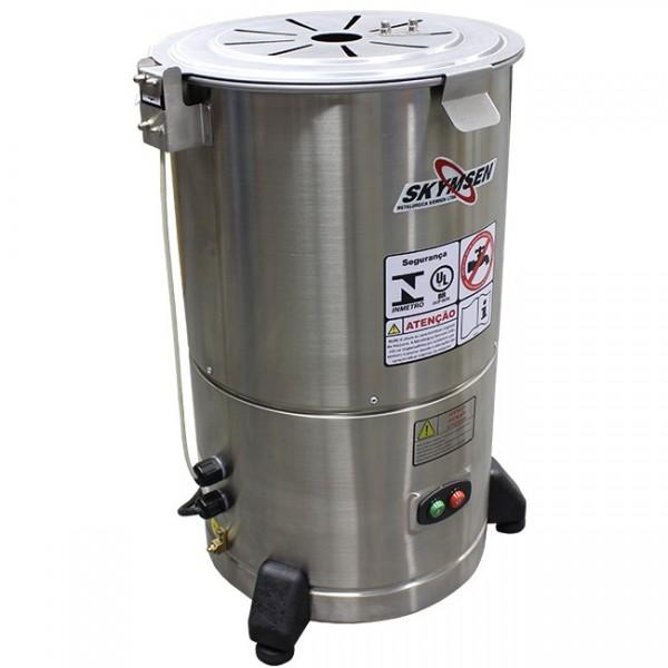 Descascador de batatas 6 kg Inox DB-06 Skymsen