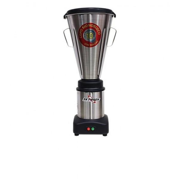 Liquidificador Industrial baixa rotação LS 10 litros Inox Skymsen