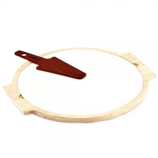 Bandeja com Espátula de Servir Pizza R10239373 Tramontina