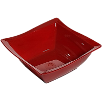 Saladeira Moove M Vermelha 2L Vemplast