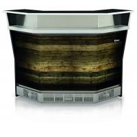 Balcão Lanchonete Neutra Externa 90° MGEL-150E MD Gourmet Elegance Super Gelopar