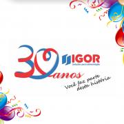 Programação de Aniversário de 30 anos Igor