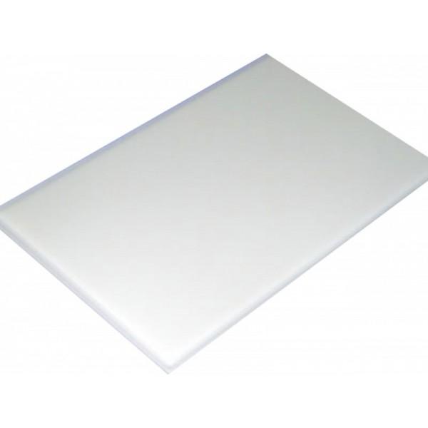 Placa de Polietileno Branca 50x30x1,5cm KitPlas