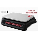 Balança Eletrônica Com Bateria e Touch 35kg DCL Ramuza