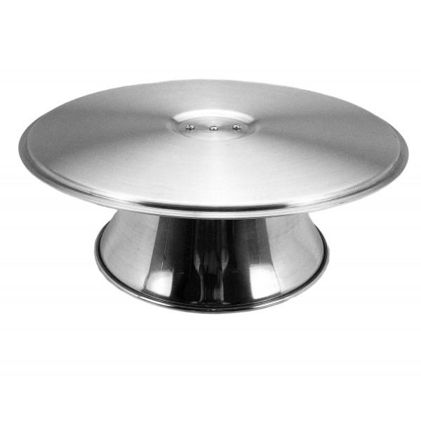 Bailarina/Suporte giratório para decorar bolo em alumínio Doupan