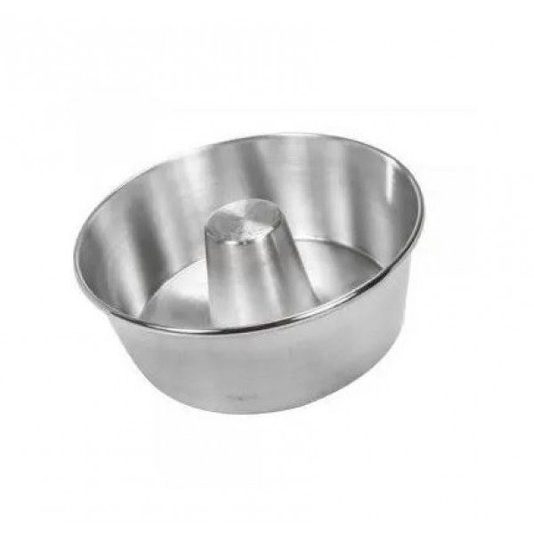 Forma para Pudim N18 Alumínio 18,5x9cm Genial