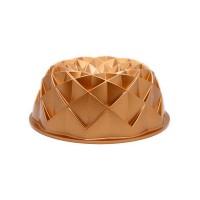 Forma para bolo em alumínio fundido bronze Pandora Marissa Lounina