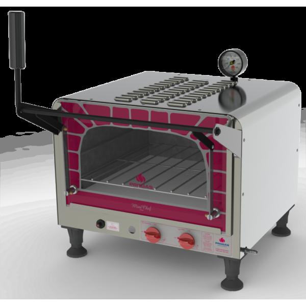 Forno a gás com Pedra Refratária Mini Chef PRP 400 Style G2 Progás