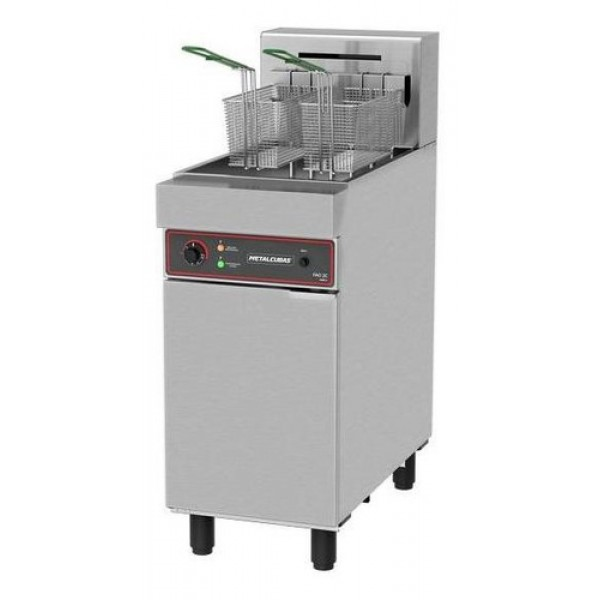 Fritadeira industrial elétrica FAO-2C Metalcubas