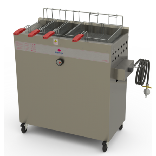 Fritadeira a gás água e óleo PR 300 BPG STYLE Progás