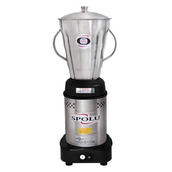 Liquidificador inox baixa rotação 4 litros SPL-049X SPOLU