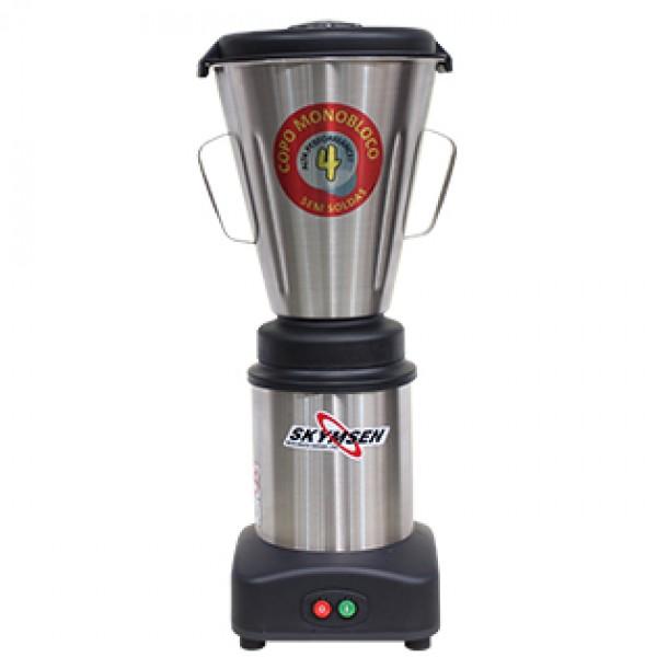 Liquidificador Industrial Baixa Rotação 4 Litros Inox LS-04-MB Skymsen