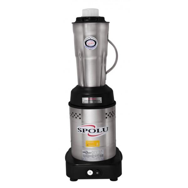 Liquidificador Baixa Rotação Inox 2 Litros SPL-048X Spolu