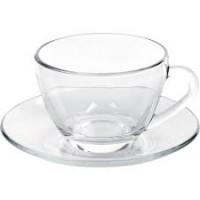 Xícara de Chá Com Pires  246ml Duralex