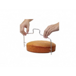 Cortador manual de bolo em aço inox