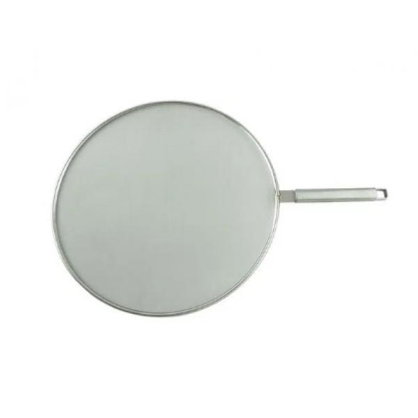 Tela protetora anti respingos 29cm aço inox