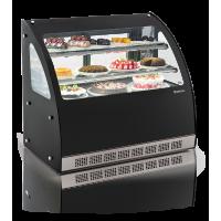 Vitrine Refrigerada Curva 110CM GGEB-110 Gourmet Elegance Gelopar