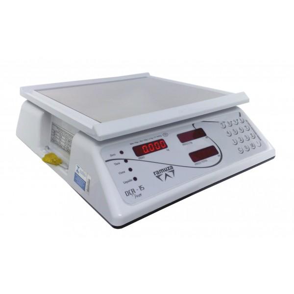 Balança Computadora 15kg  DCR Ramuza