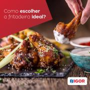 Como escolher a fritadeira ideal?