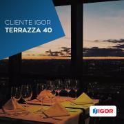 TERRAZZA 40: UM BELO RESTAURANTE COM UMA POTENTE COZINHA